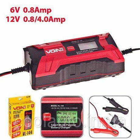 Зарядное устройство Voin VL-144 (24 мес. гарантии) 6V-12V (3-120A/h)