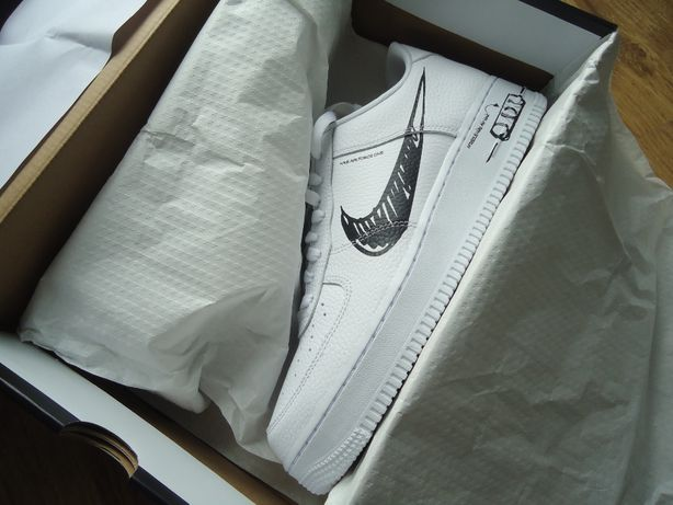 Nike Air Force AF 1 Low Sketch Utility White Black kilka rozmiarów