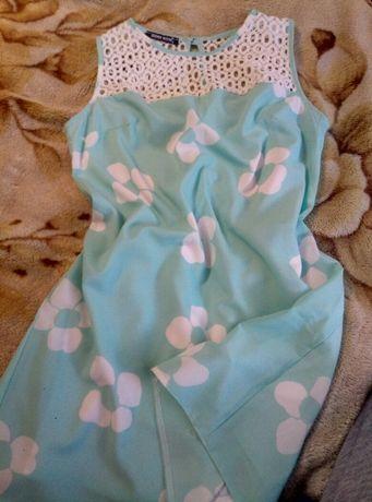 платье,туника,сарафан летний мятный