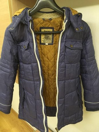 Осенняя куртка для мальчика KANZ 140 рост