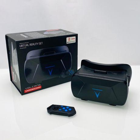Okulary VR Virtual Reality Vulcano Modecom Nowe Google