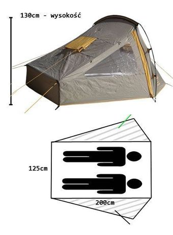 Палатка Campus Almeria 2