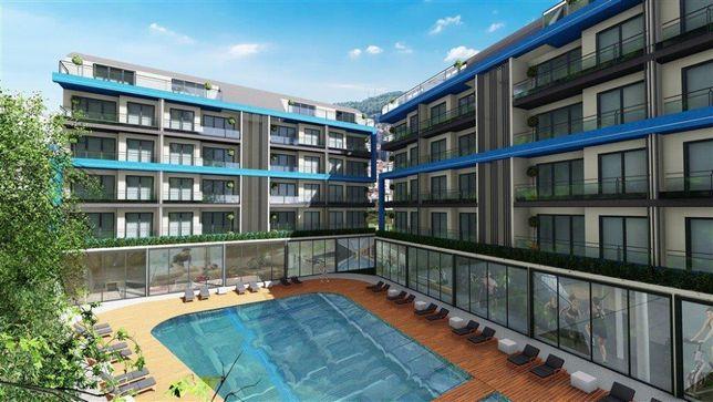 Продаж однокімнатна квартира в м. Аланія, Туреччина, Середземне море