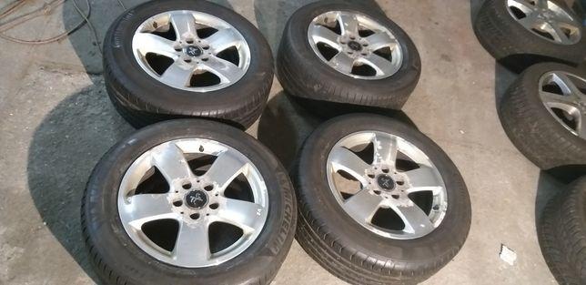 4 felgi 16 cali i opony 225/55 Mercedes Audi VW Seat  Skoda cena za 4
