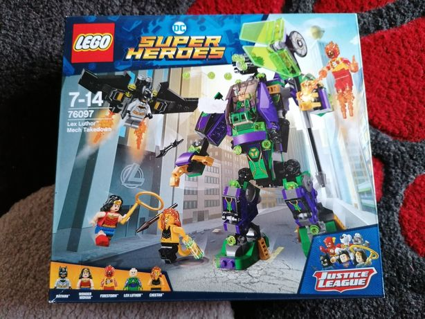 Set Lego 76097, Justice League, completo com caixa