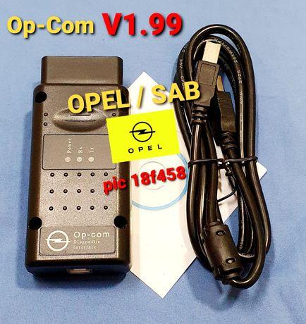 OPCOM OP-COM V 1.99 opel Sab diagonostico