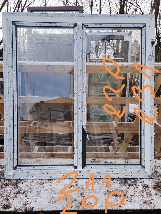 Drzwi tarasowe aluminiowe ruchomy słupek ciepłe nowe Zawiercie - image 1
