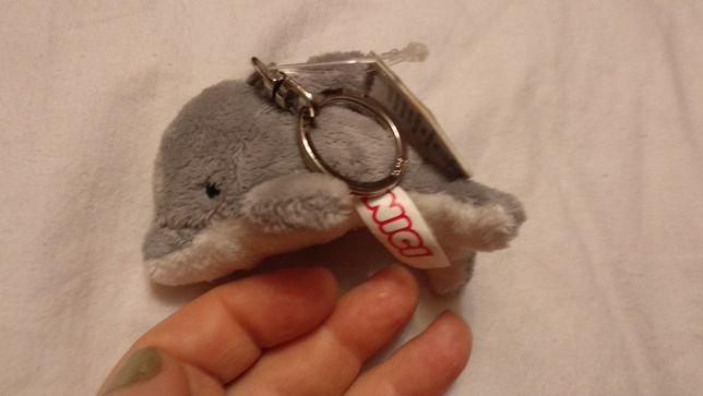 игрушка мягкая дельфин NICI ники новый брелок очень крутой с бирками