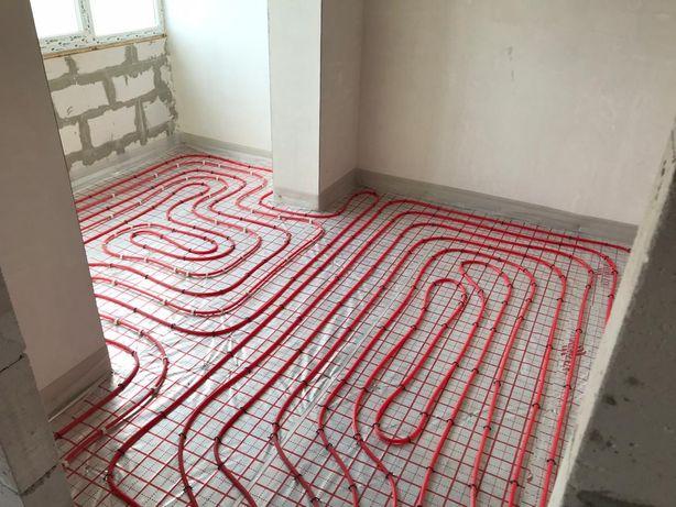 Тепла підлога та сантехніка в новобудовах!