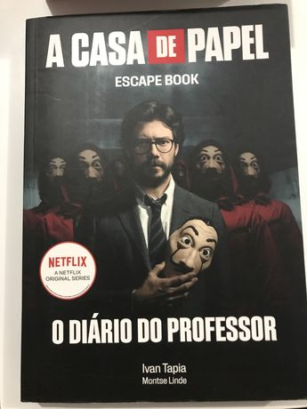 Casa de papel - escape book