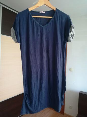 Granatowa tunika/bluzka . Rozmiar uniwersalny