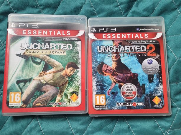 Uncharted 1 2 ps3