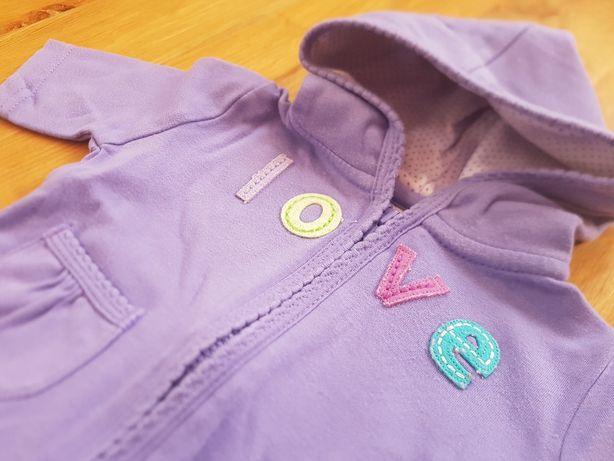 Carters komplet 56 cm NB Newborn bluza spodenki dres dla noworodka