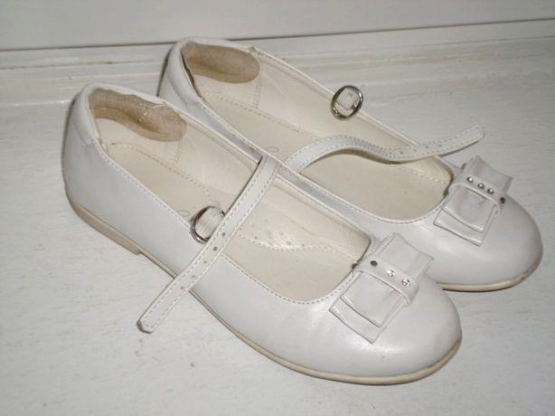 rozm 33 białe buty sandałki KOMUNIA