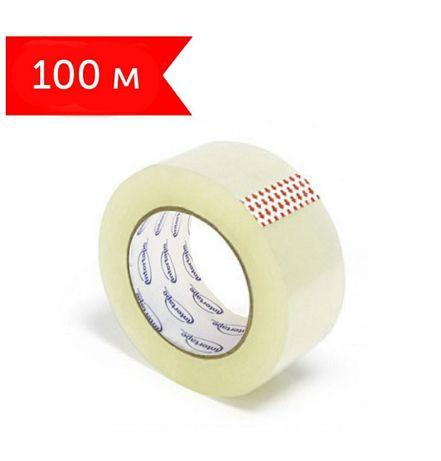Скотч прозрачный 100 метров (реальных) 36 шт в ящике прочный