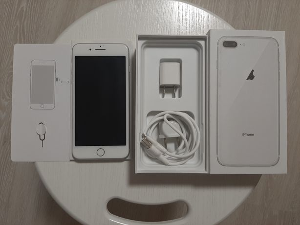 iPhone 8+ silver, 64gb