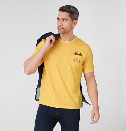 Хлопковая футболка C&A Кунда, рМ. Новая