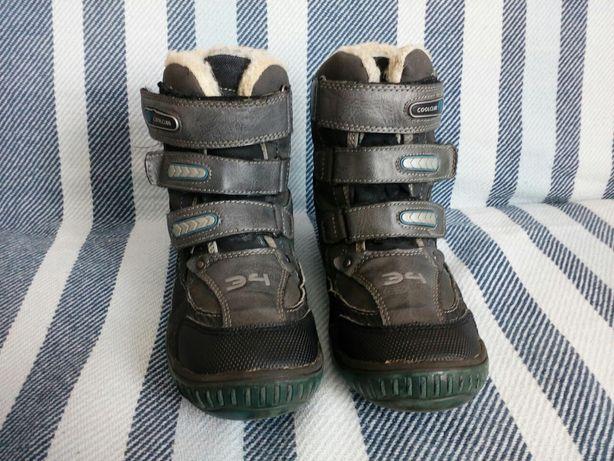 Buty, trzewiki, kozaki na zimę Cool club czarno - szare 31 (20cm)