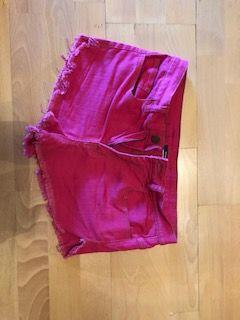 calções rosa berska tamanho s