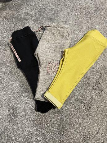 Spodnie Zara i inne w rozmiarze 74