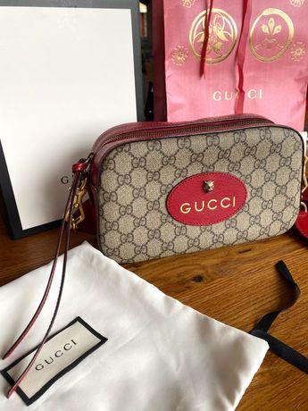 Oryginalna Torebka Gucci gg supreme messenger bag