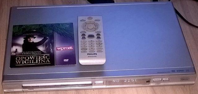 Sprawny Odtwarzacz dvd Philips DVP 3040 / 12 + Pilot + Kabel + Film