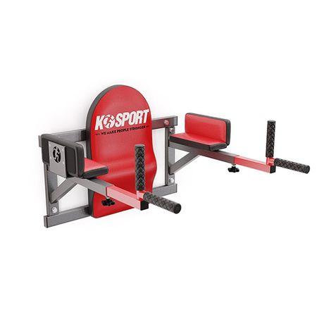 Poręcze ścienne profilowane do brzuszków/dipów do 300 kg KSH005/SK