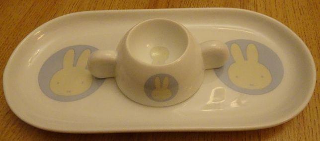 MIFFY zestaw do jajka na miękko dla dziecka