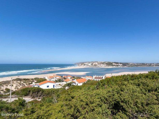 Moradia com vista para a Lagoa de Óbidos e para o mar