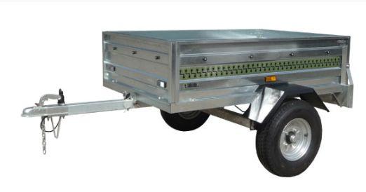 Reboque de carga 1100 x 900 x 330 mm. / 300Kg