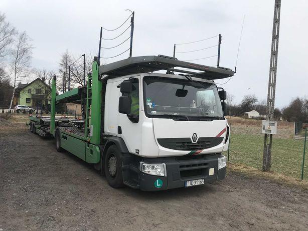 Renault Premium DXI 410 autotransporter, w całości lub osobno