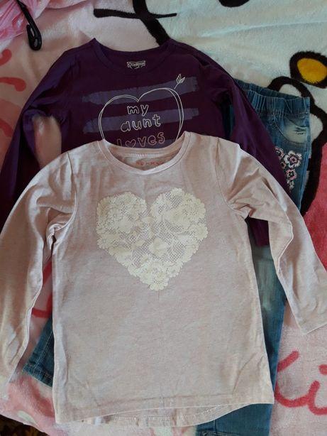 одежда для девочки, сарафан, джинсы, одежда на 4 года