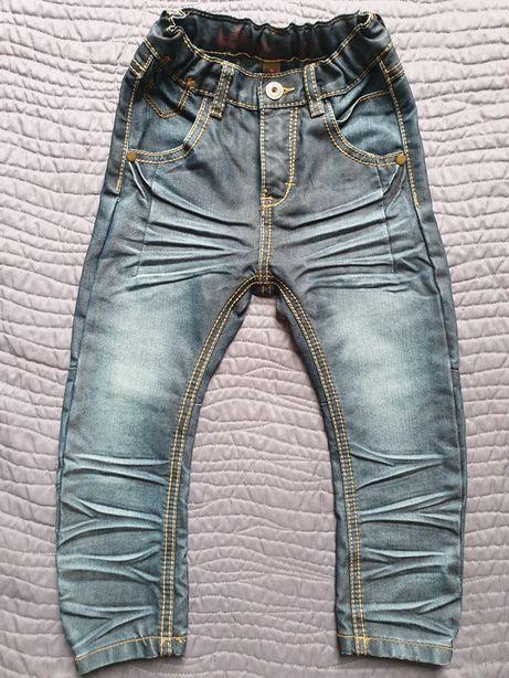 Spodnie jeansowe KappAhl, NOWE, regulowane, r.92