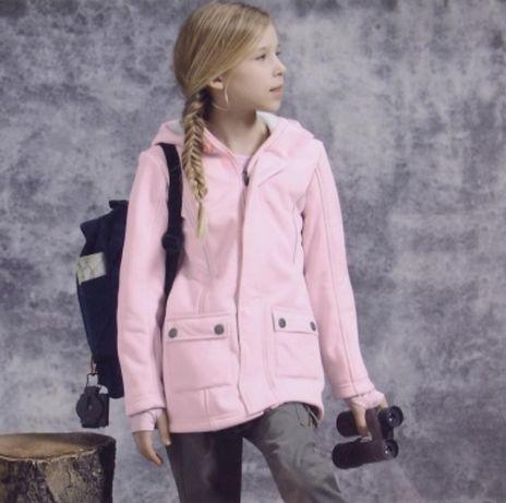 Демисезонная куртка - ветровка softshell фирмы crivit размер 146-152