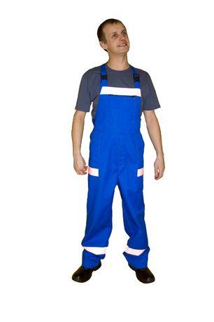Рабочая одежда, спецодежда, костюм рабочий (полукомбинезон, куртка)