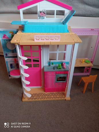 Domek Barbie - skladany