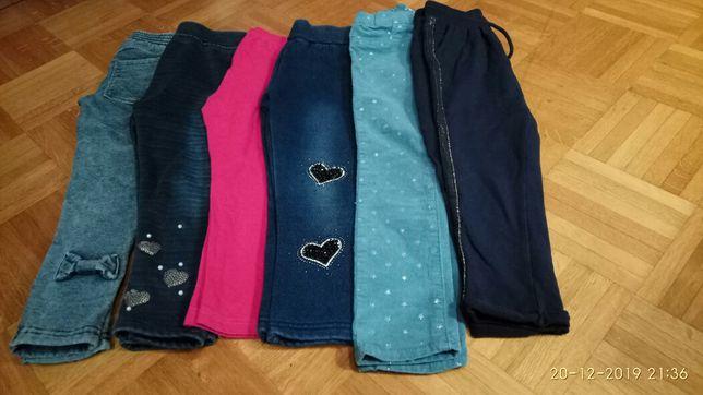 Ubrania dla dziewczynki rozm 110
