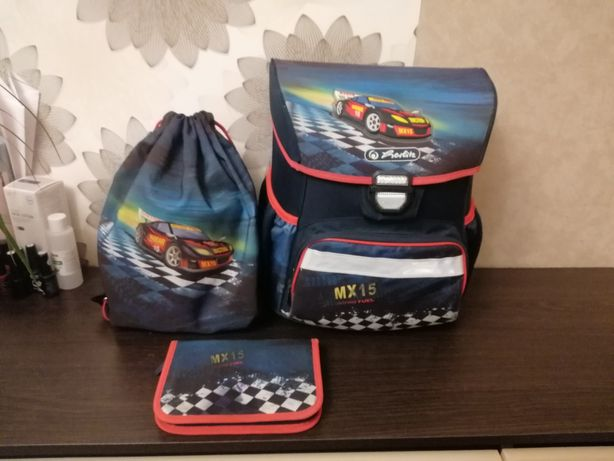 Продам шкільний рюкзак + пенал + сумка для спортивного одягу Herlitz