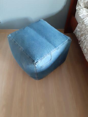 Fotel pufa krzesło ikea pokrowiec jeans stolik loft dzieci Home zara