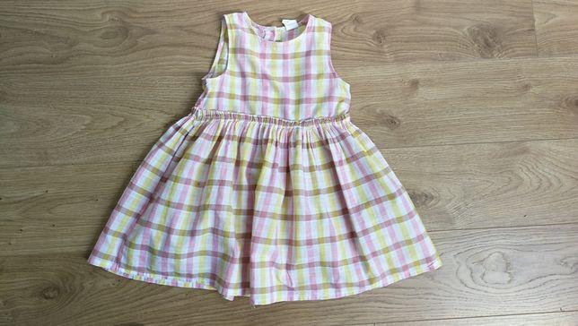 H&M Sukienka w kratkę 92