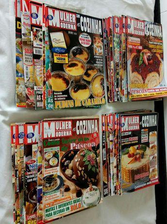 """Revistas Culinária """"Mulher Moderna"""" 38 unidades"""
