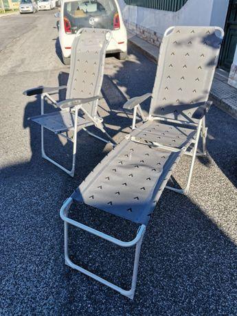 Cadeiras de campismo