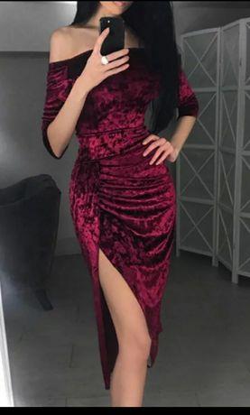 Вечернее платье, велюр, 300 грн
