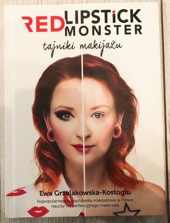 Książka Tajniki makijażu Red Lipstick Monster Ewa Grzelakowska-Kostogl