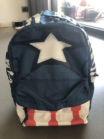 Plecak Captain America dla chlopca w klasie 1-3