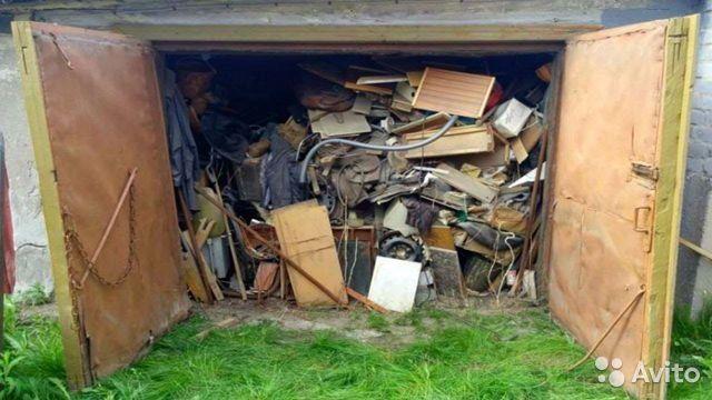 Уборка гаражей вывоз мусора