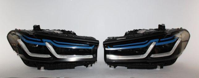 BMW G30 M5 F90 Lift LCI Laser lampa lampy przod