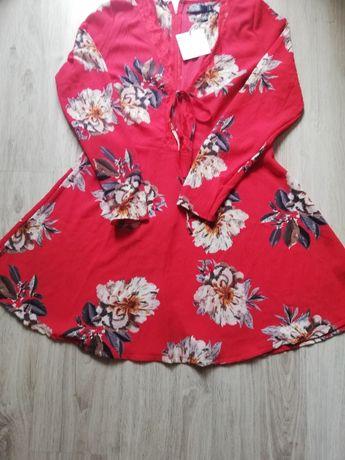 Sukienka czerwona missguid