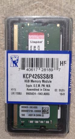 Pamięć RAM Kingston KCP426SS8 8GB 2666MHz DDR4 SODIMM laptopa