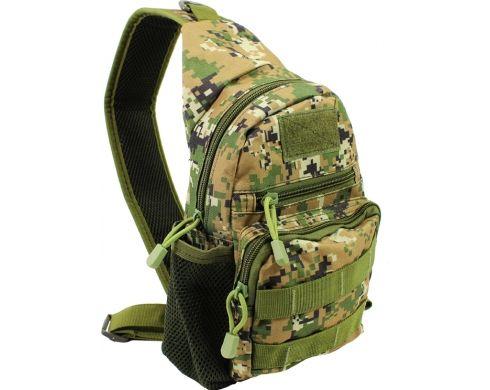 Рюкзак тактический на одно плечо от AOKALI Camouflage Green
